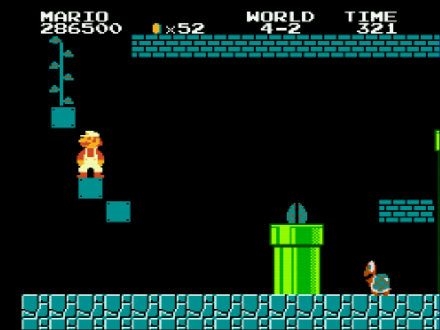 Super Mario Bros - Genesis - old secrets - User Screenshot